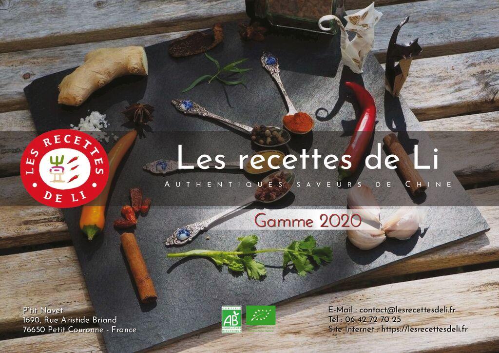thumbnail of Les recettes de Li – Brochure – A4 202012O